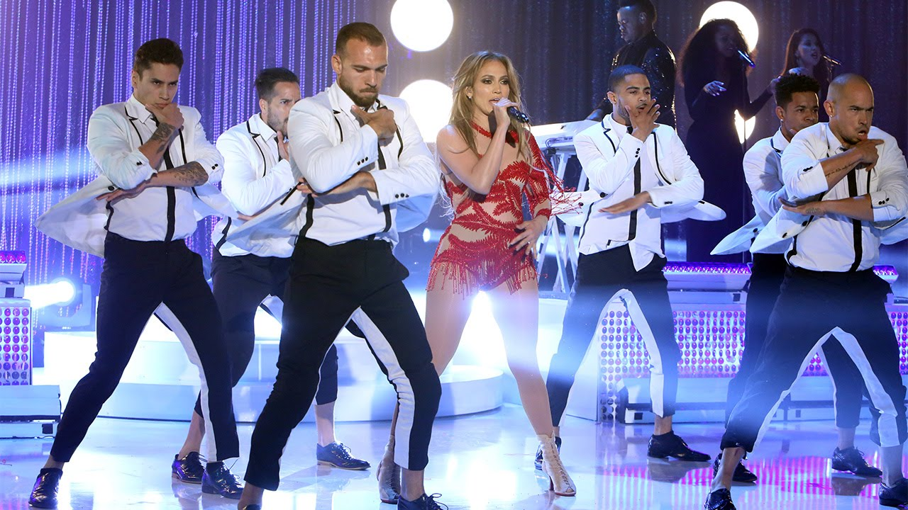 Jennifer Lopez Peforms Greatest Hits Ellen